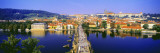 Charles Bridge, Prague, Czech Republic Wall Decal by Panoramic Images 