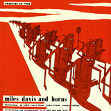 Miles Davis - And Horns Wallstickers