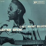 Lightnin' Hopkins - Last Night Blues Wall Decal