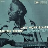 Lightnin' Hopkins - Last Night Blues Wall Decal