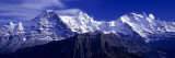 Swiss Mountains, Berner, Oberland, Switzerland Wall Decal by  Panoramic Images