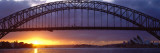 Sydney Harbor Bridge, Sydney, New South Wales, United Kingdom, Australia Wall Decal by  Panoramic Images