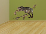 T. Rex Layout Wall Decal