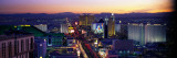 The Strip, Las Vegas, Nevada, USA Wall Decal by Panoramic Images 