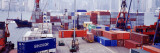 Shipping Containers, Victoria Harbor, Hong Kong, China Wall Decal by  Panoramic Images