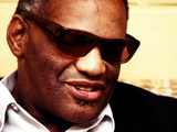 Ray Charles Portrait Wall Decal