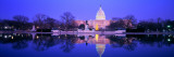 Christmas, US Capitol, Washington DC, District of Columbia, USA Vinilos decorativos por Panoramic Images,