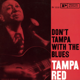 Tampa Red - Don't Tampa with the Blues Wall Decal