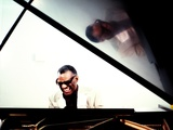 Ray Charles in the Studio at RPM International, Los Angeles Wall Decal