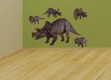 Profilo di triceratopi (sticker murale) Adesivo murale