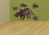 Triceratops Layout Wall Decal