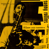 Sonny Rollins - Sonny Rollins with the Modern Jazz Quartet Wall Decal
