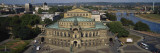 High Angle View of an Opera House, Semper Opera House, Dresden, Germany Wall Decal by  Panoramic Images