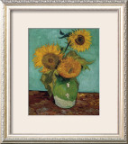 Sunflowers, First Version Posters by Vincent van Gogh