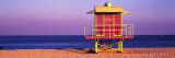 Lifeguard Hut, Miami Beach, Florida, USA Wall Decal by  Panoramic Images