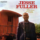 Jesse Fuller - Jazz, Folk Songs, Spirituals and Blues Wall Decal