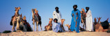 Tuareg Camel Riders, Mali, Africa Wall Decal by  Panoramic Images