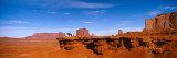Horse and Rider, Monument Valley, Arizona, USA Wallstickers af Panoramic Images,