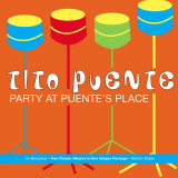 Tito Puente, Party at Puente's Place Autocollant mural