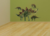 Stegosaurus Layout Wall Decal