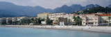 Hotels on the Beach, Menton, France Wallsticker af Panoramic Images,