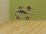 Diplodocus Layout Wall Decal