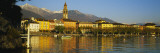 Town at the Waterfront, Ascona, Ticino, Switzerland Wall Decal by Panoramic Images 