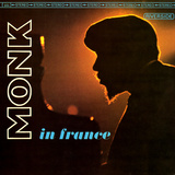 Thelonious Monk - Monk in France Vinilos decorativos