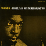 John Coltrane - Traneing In Vinilo decorativo