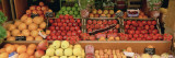 Close-up of Fruits in a Market, Rue De Levy, Paris, France Muursticker van Panoramic Images