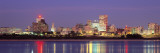 Dusk, Memphis, Tennessee, USA Wall Decal by Panoramic Images