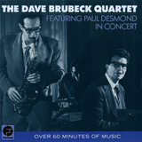 Dave Brubeck Quartet - Featuring Paul Desmond in Concert Wall Decal