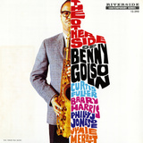 Benny Golson - The Other Side of Benny Golson Wall Decal by Paul Bacon