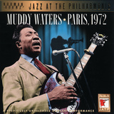 Muddy Waters - Paris, 1972 Autocollant mural