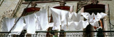Laundry on Balcony, Havana, Cuba Wall Decal by Panoramic Images 