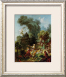 L'Amant Couronne Prints by Jean-Honoré Fragonard