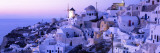 Evening, Ia, Santorini, Greece Wall Decal by  Panoramic Images