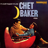 Chet Baker - It Could Happen to You Wallstickers af Paul Bacon