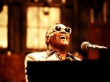 Ray Charles Performing Wall Decal
