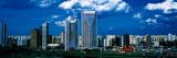 Skyline, Itaim Bibi, Sao Paulo, Brazil Wall Decal by  Panoramic Images