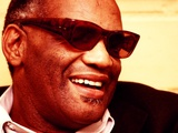 Ray Charles in His Dressing Room Wall Decal