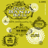 Jazz Band Ball Wall Decal