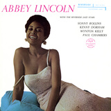 Abbey Lincoln - With the Riverside Jazz Stars Wallstickers