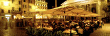 Cafe, Pantheon, Rome Italy Wall Decal by  Panoramic Images