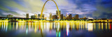 Evening, St. Louis, Missouri, USA Wall Decal by  Panoramic Images