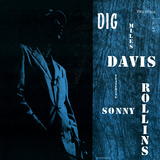 Miles Davis featuring Sonny Rollins - Dig Wall Decal