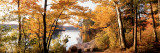 Sunset, Sacandaga Lake, Adirondack Mountains, New York State, USA Wall Decal by Panoramic Images 