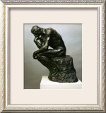 The Thinker Posters by Auguste Rodin