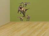 Giganotosaurus Layout Wall Decal