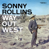 Sonny Rollins - Way Out West Vinilo decorativo